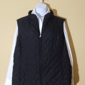 Ann Taylor black vest